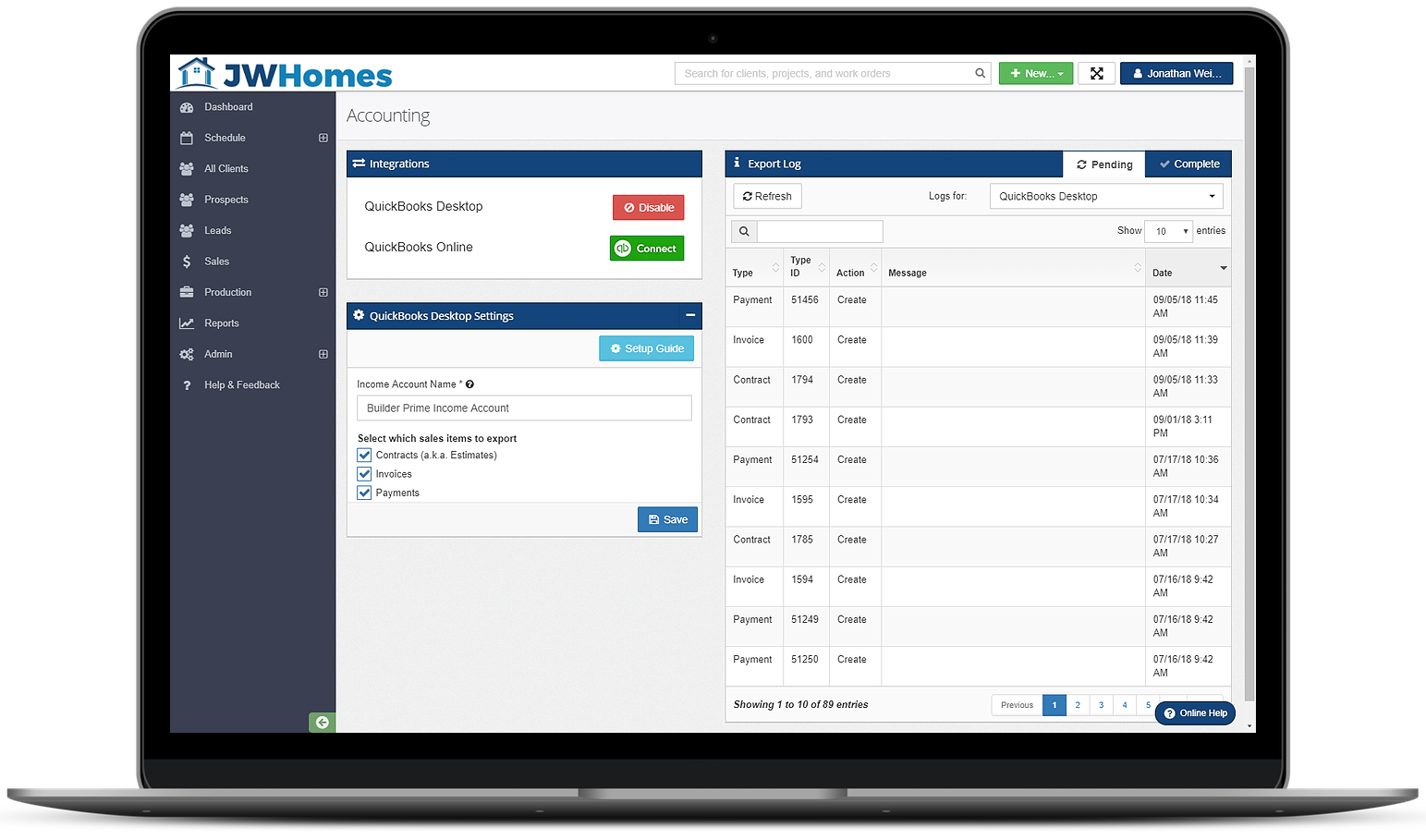 Best CRM for Contractors With QuickBooks Integration